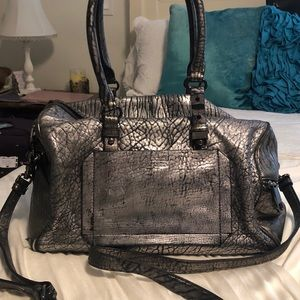 Badgley Mischika silver color handbag